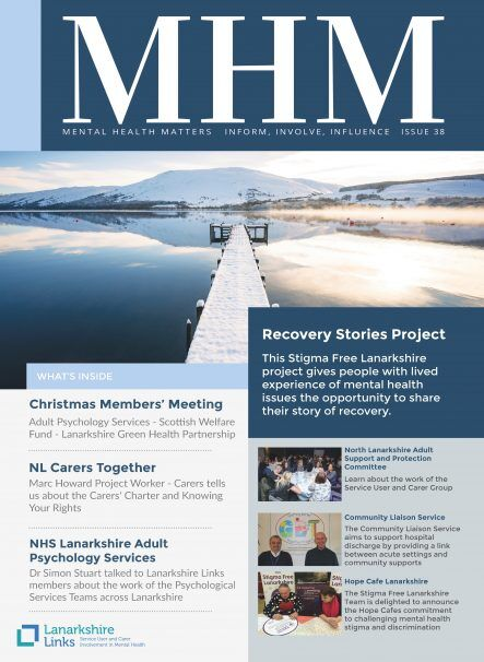Picture of Mental Health Matters Magazine Issue 38